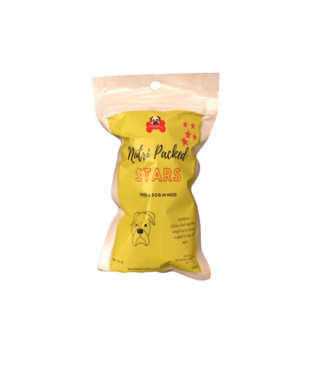 Nutri Packed Stars Dog Biscuits