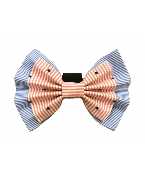 Give Me Wings Double-Layered Bow Tie