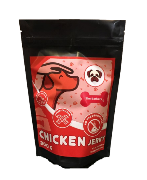 Chicken Jerky for Dogs and Cats