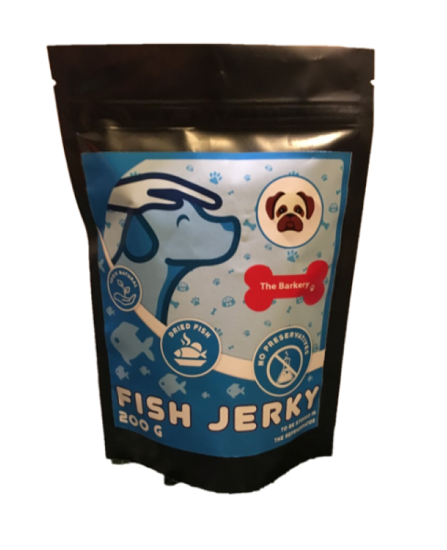 Fish Jerky for Dogs and Cats