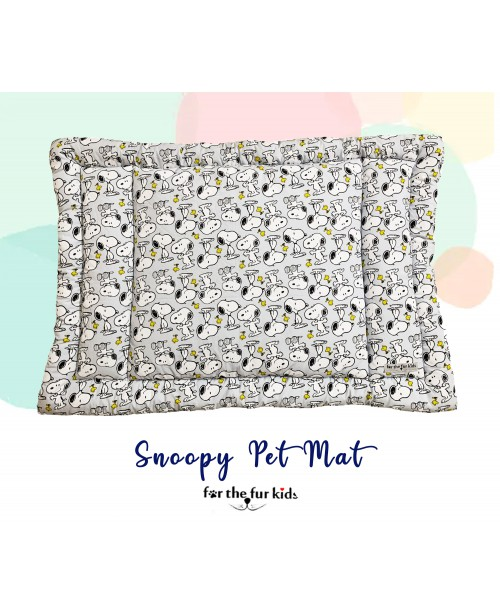 Snoopy Soft and Durable Pet Mat (Large)