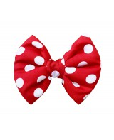 Red Polka Dot Bow Tie for Dogs